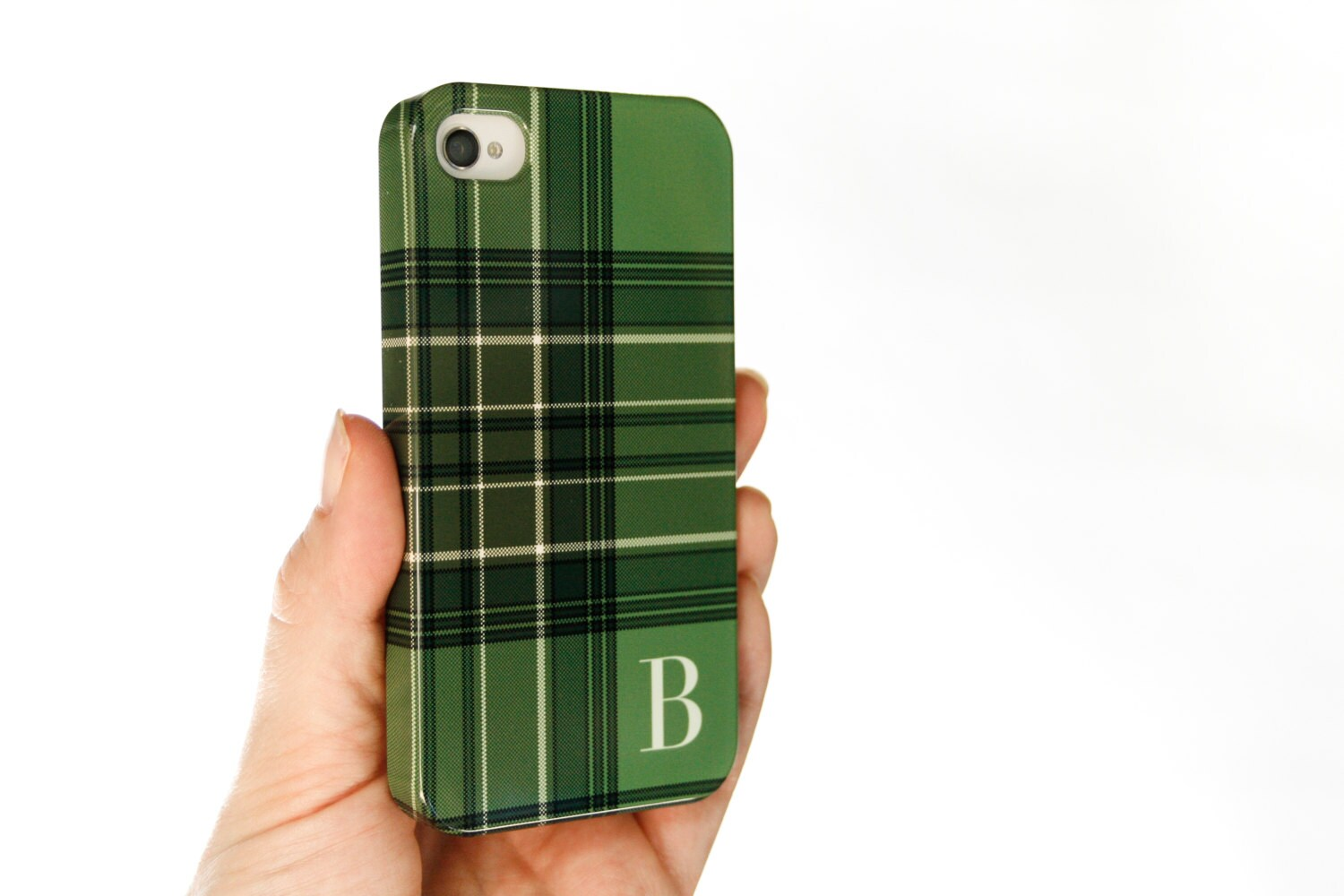 green plaid iphone 7 case tartan iphone 5s case monogrammed
