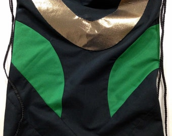 Avengers Loki Inspired Drawstring Backpack