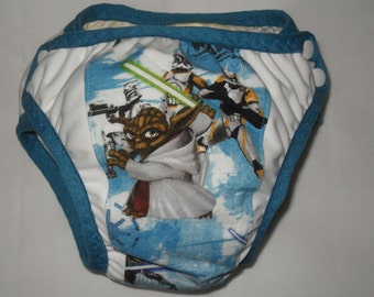 Training pants made from Yoda  fabric