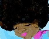 "Afro 11x14"" printable art"