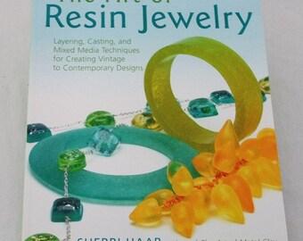 The Art of Resin Jewelry By Sherri Haab Instructional Book   SALE