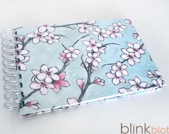 photo album and 20 questions interview book -cherry blossom