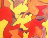 """Original Painting 'Maple Abstraction"""""""