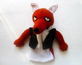Fantastic Mr. Fox Talking Hand Puppet - Red Fox Hand Puppet/Talking Puppet