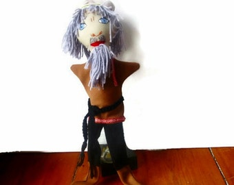 Belle's Father Hand Puppet Beauty and the Beast -Russian Grandfather/Russian Folf Costume/ Grandfather Puppet