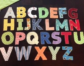 Plush Alphabet Letters