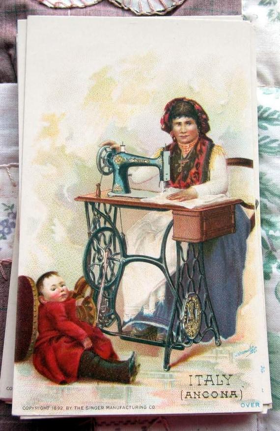 1892 singer sewing machine