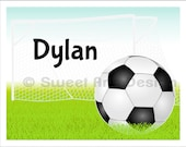 Soccer  -  Wall Print  (or)  Greeting Cards