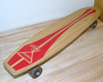 1970s NASH Manuf Wood Skate Board