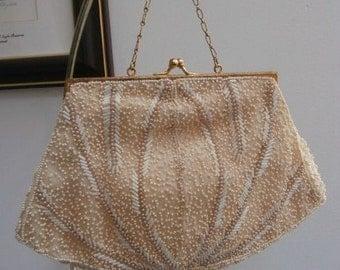 Women's Purse:Beaded Evening Handbag Steketee & Sons Formal  Beaded Purse  Mint