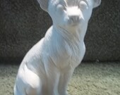 Chihuahua Dog  in Ceramic Bisque Ready to Be Painted Chihuahuas