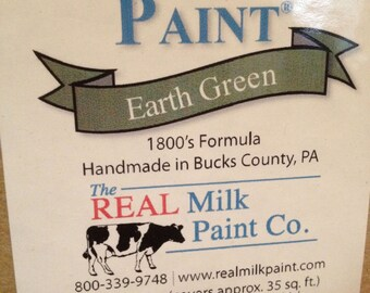 MILK PAINT Earth Green