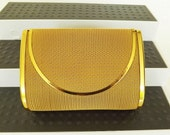 Vintage Mesh Purse Clutch Handbag Formal Dressy Evening Bag
