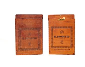Vintage El Producto Queen Cigar Box / 2 Available