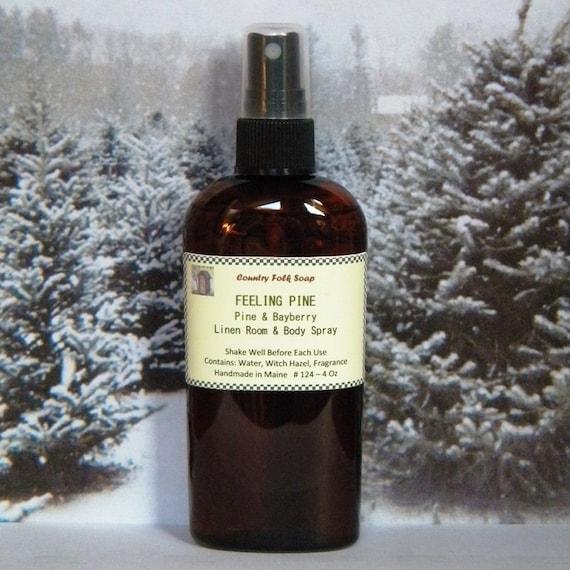 FEELING PINE Pine & Bayberry Room Fragrance Spray - Natural Pine Air Freshener