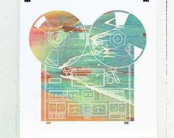 White Noise -Screen Print