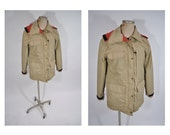 60/40 vintage mountain PARKA JACKET eddie bauer coat womens vintage jacket extra small.