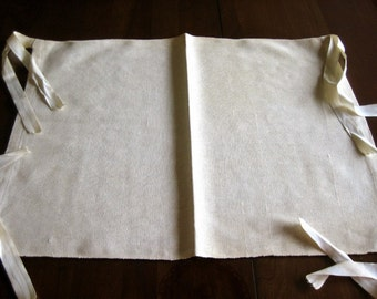 Upholstery CHAIR COVER Pad End Ties Tablecloth Top or Decorator Slip Cover