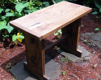 Table Reclaimed Oak 34 Inch