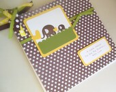 Baby Shower Advice Book, Journal, Memory Book, Pregnancy Journal or keepsake, Brag Book