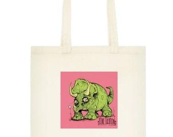 Lil Dino Tote Bag