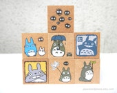 Totoro Stamps - Set of 7 - Official Goods