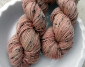 Champagne With Katie -- Vintage Sock -- 85/15 Blend of Superwash BFL and Nylon NEP