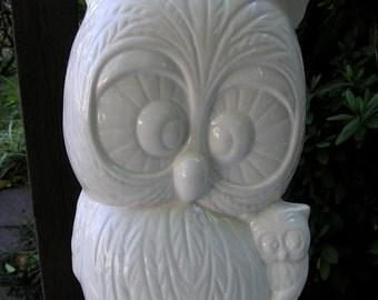 Owl Mom & Baby Bank