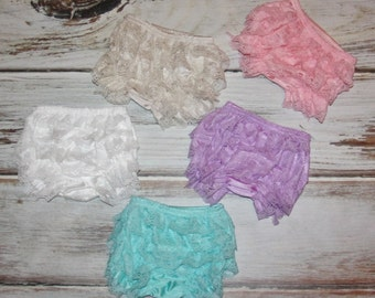 Pink lace diaper cover - toddler diaper covers - Pink Lace Bloomers - Lace diaper cover - newborn diaper cover-  diaper cover