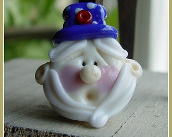 Uncle Sam Lampwork Bead