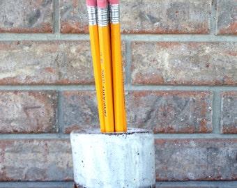 Handmade Breyers Oreo Cookie Ice Cream Cake Round Tooth Brush, Pencil, Shop or Studio Tools Classic Ceramic Holder