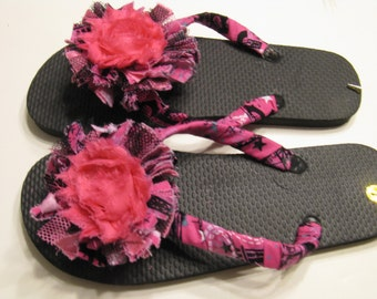 Decorated Flip Flops - ShopStyle