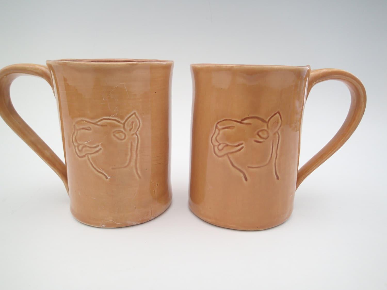 Ceramic coffee mug funny coffee cup humpday mug pottery for Funny shaped mugs