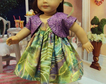 Hoilday Fun for American girl  Saige or Ivy with metallics   and other 18 inch dolls