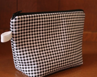 Zippered Cosmetic Bag--in Your Choice of Fabric