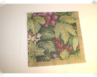 Paper Napkin for Decoupage Grapes*/ Craft Supplies**