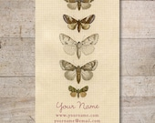 Business Cards - Custom Business Cards - Jewelry Cards - Earring Cards - Display Cards - Vintage Butterflies - No. 154