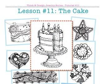 Think & Design 11 The Cake PDF tutorial