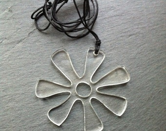Clairely upcycled jewellery - Ananci- on cord