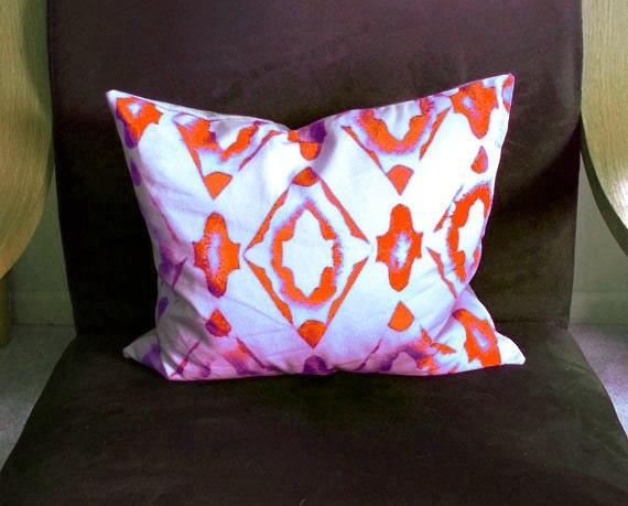 Modern Throw Pillow, Pillow Cover, Large Lumbar Pillow Cover, Geometric Style Pillow Cover, Bedroom Pillows, Sofa Pillows, Exclusive Modern