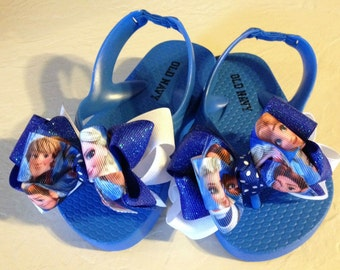 Frozen Boutique Flip Flops Toddler Size 5