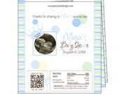 Baby Shower Candy Wrappers/Candy Wrappers/Hershey Candy Bar Wrappers/Shower Wrappers/Chocolate Bar Wrappers/foil included