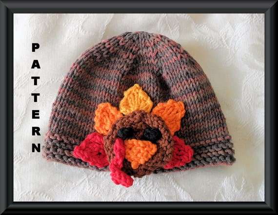 Knitted Hat Pattern Baby Hat Pattern Instant Download Hat ...