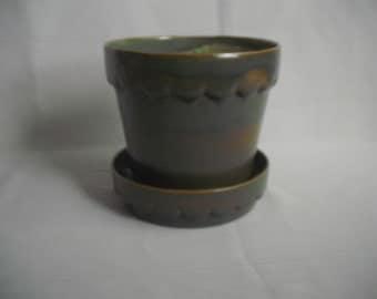 Medium Scalloped Pot/Planter