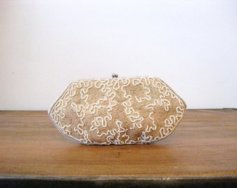 1930s Belgian Beaded Embroidered Clutch