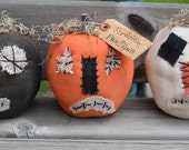 Primitive Fall Halloween Forgotten Pumpkins