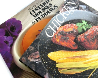 james mc nair ...    vintage cookbook collection   ...    chicken   ...   custards mousses puddings