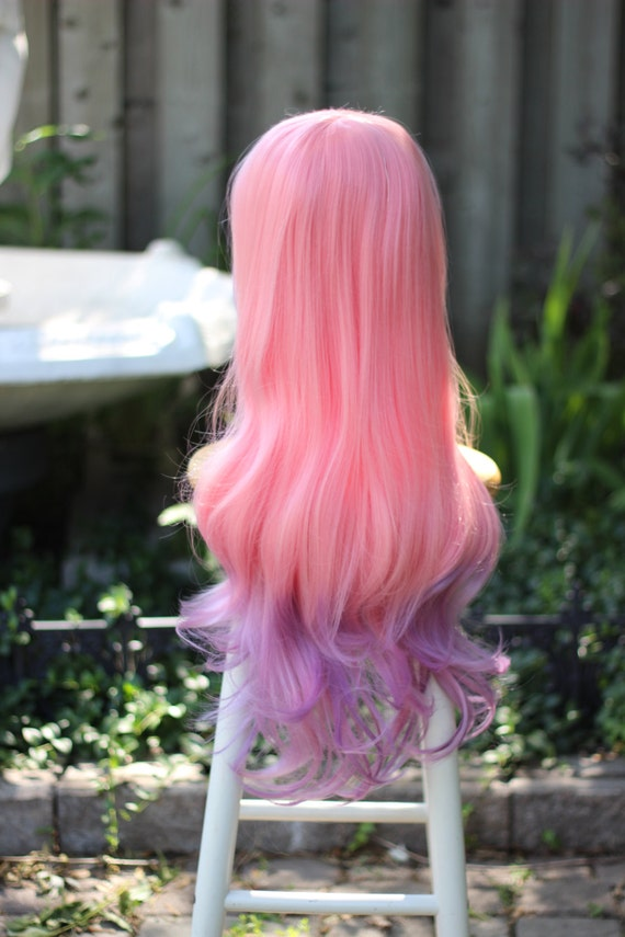 SALE - Dragon Fruit - Pink / Purple Ombre Superlong Wig - FREE SHIPPING
