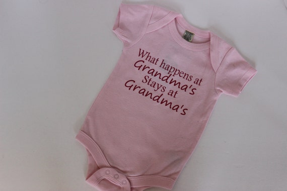 Baby Showers What Happens ~ What happens at grandma s onesie bodysuit infant girl