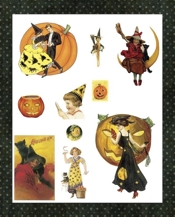 halloween clip art free vintage - photo #29